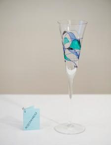 Flute of champagne AcquaMarina